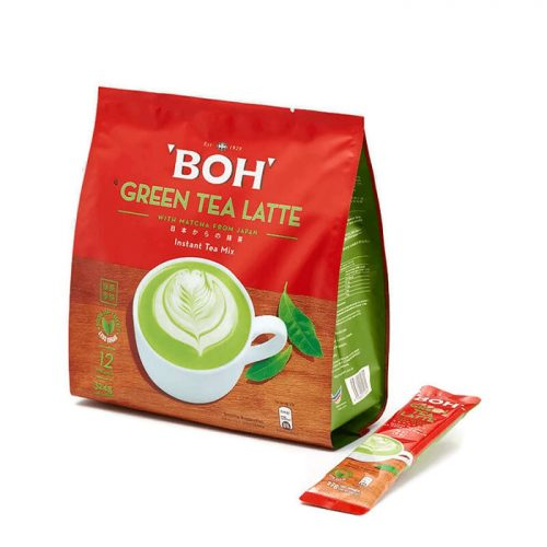 BOH Green Tea Latte