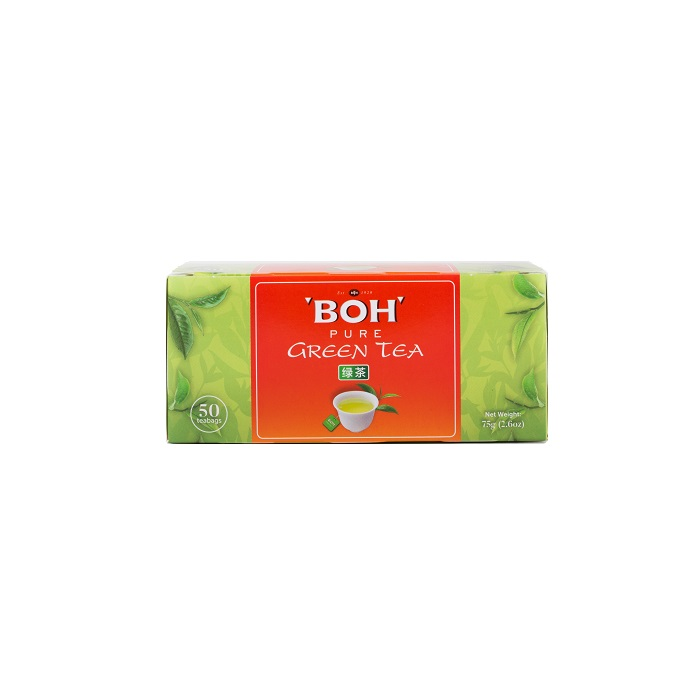 BOH Pure Green Tea 50 teabags