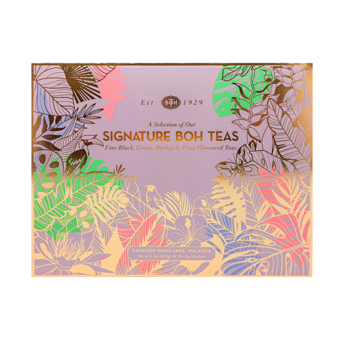 Newly launched Signature BOH Teas
