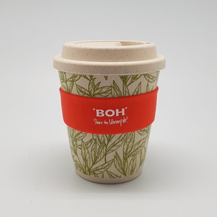 BOH eCo Wheat Biodegradable Mug Red